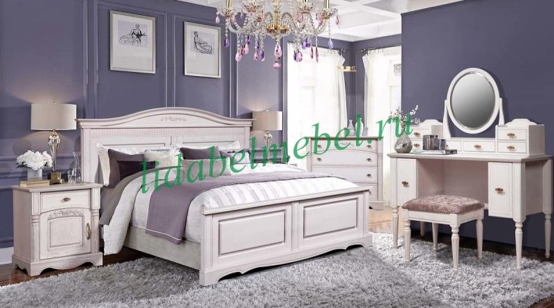 набор мебели для спальни паола 3 купить в интернет магазине лида